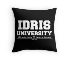 Idris University Throw Pillow