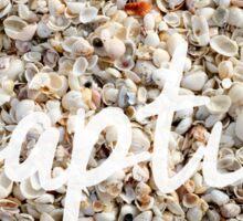Captiva Island Florida Seashells Sticker