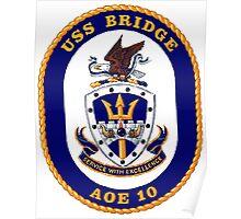 AOE-10 USS (USNS) Bridge Poster