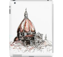 Cathedral of Saint Mary of the Flower in Florence iPad Case/Skin