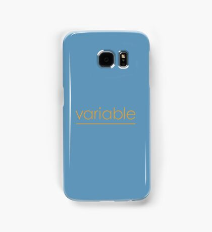 Variable Samsung Galaxy Case/Skin