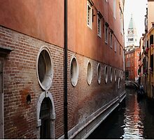 Venice, Italy - Palaces and Side Canals by Georgia Mizuleva