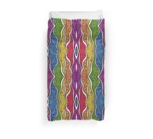 Psychedelic Abstract colourful work 222 Duvet Cover