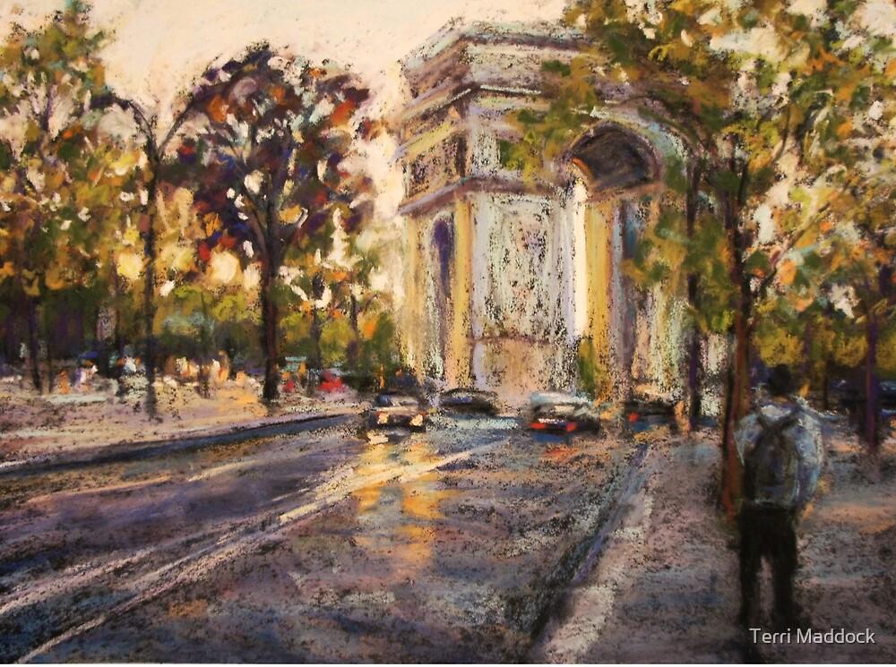 Arc de Triomphe de L'Etole, Paris by Terri Maddock