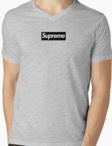 "SUPREME BLACK BOX LOGO / CUSTOM ""GLITCH"" T-Shirt"