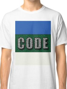 Break the Code Labyrinth Challenge Classic T-Shirt