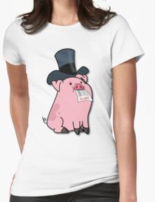Judge Waddles Womens Fitted T-Shirt