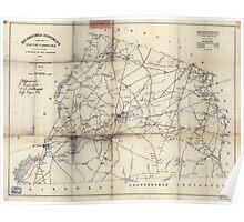 Civil War Maps 0355 Ed gefield sic District South Carolina Poster