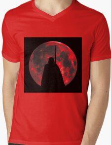 Star Wars: Darth Vader Moon Mens V-Neck T-Shirt