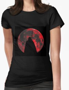 Star Wars: Darth Vader Moon Womens Fitted T-Shirt