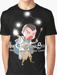 White Mage - Male Graphic T-Shirt
