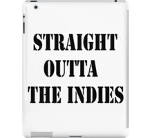 Straight Outta The Indies iPad Case/Skin