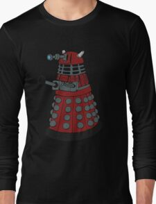 Dalek/ Doctor Who Long Sleeve T-Shirt