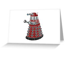 Dalek/ Doctor Who Greeting Card