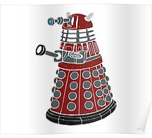 Dalek/ Doctor Who Poster