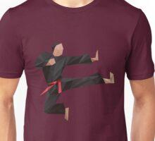 Low Poly Karate Unisex T-Shirt