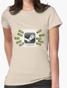 Steam Sale Meme Womens Fitted T-Shirt