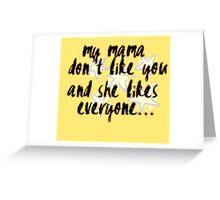 Love Yourself PURPOSE Justin Bieber Greeting Card