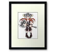 Dovahkiin(Girl) Framed Print
