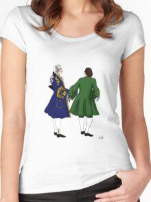 Rococo men  Women's Fitted Scoop T-Shirt