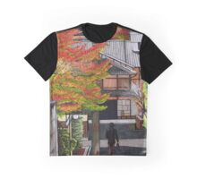 Leaves in Autumn Graphic T-Shirt