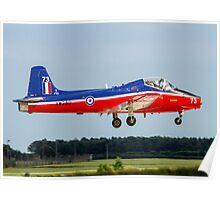 BAC Jet Provost T.5A XW289/73 G-JPVA Poster