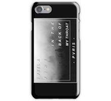 PVRIS Smoke Lyrics iPhone Case/Skin
