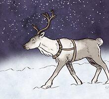 Reindeer Night by StinaB