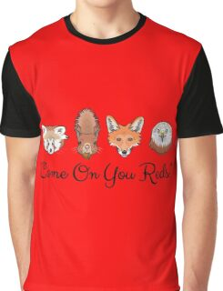 Come On You Reds! Graphic T-Shirt
