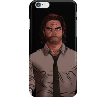 Bigby Wolf iPhone Case/Skin