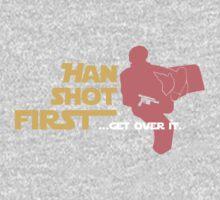 Movies - Han shot first - dark One Piece - Short Sleeve