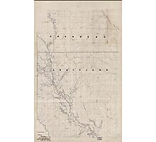 Civil War Maps 2120 Map of the Red River campaign March 10-May 22 1864 Photographic Print