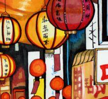 Street Lanterns Sticker