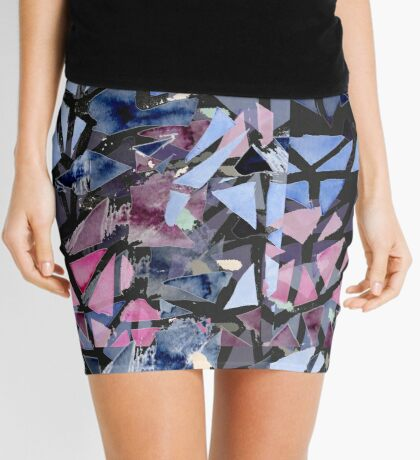 Effective Reality Rearranged Mini Skirt