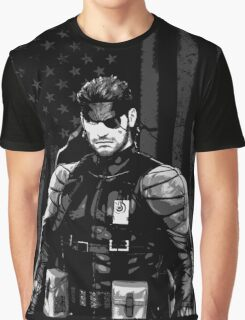 METAL GEAR SOLID SHIRT - SOLID SNAKE Graphic T-Shirt