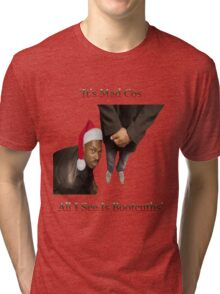 Roll Safe - Christmas Tri-blend T-Shirt
