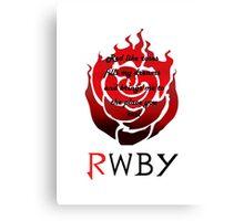 RWBY Ruby Rose Canvas Print