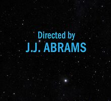 Directed by J. J. Abrams by everyplate