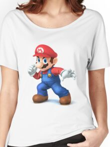 (HD) Mario Women's Relaxed Fit T-Shirt