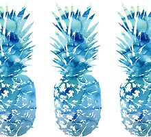 3 Tumblr Pineapples by emrapper