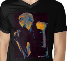 Lou Reed Mens V-Neck T-Shirt