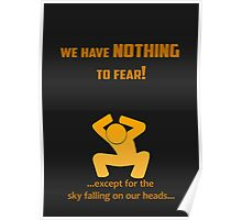 Miscellaneous - nothing to fear Poster