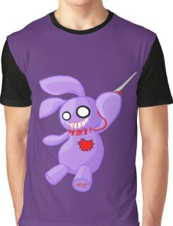 Coninji - Purple voodoo bunny Graphic T-Shirt