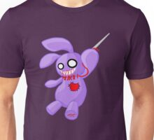 Coninji - Purple voodoo bunny Unisex T-Shirt