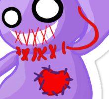 Coninji - Purple voodoo bunny Sticker