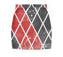 Harley Quinn Print Mini Skirt
