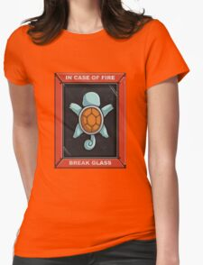 In Case of a Fire Womens Fitted T-Shirt