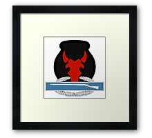 34th Infantry CIB Framed Print