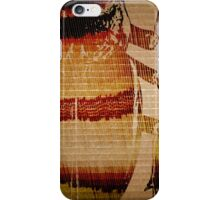When A Beetle Meets A Folding Machine iPhone Case/Skin