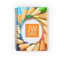 JW.ORG (Colors) Spiral Notebook